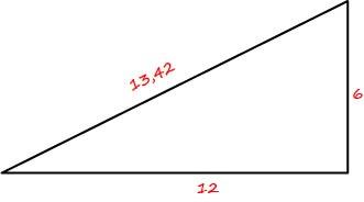 Треугольник крыши