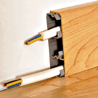 Монтажный короб с кабель-каналом