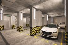 Машино-места в «Ривер Парке» от 7 700 рублей в месяц