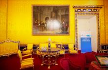 Восстанволен Лионский зал Екатерининского дворца