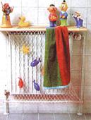Сетка в ванной