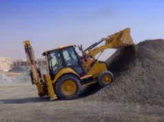 Экскаваторы для выполнения первичных строительных работ