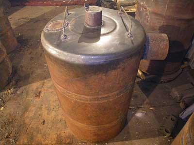 дровяная печь для гаража