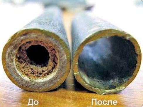 загрязненная система отопления