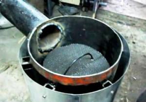 печь долгого горения