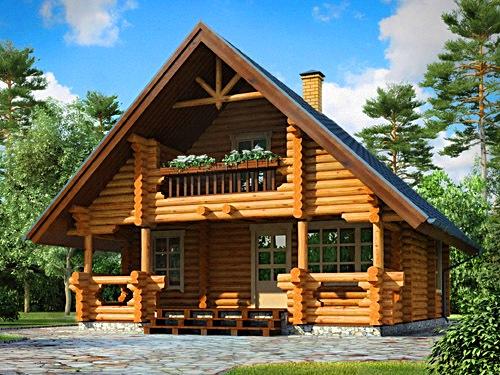 Деревянные дома - основные достоинства