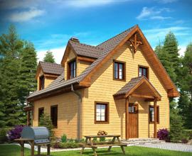 Преимущества и недостатки домов и коттеджей из бруса