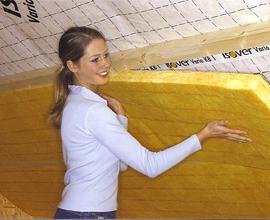 Какие виды утеплителей для крыши существуют?